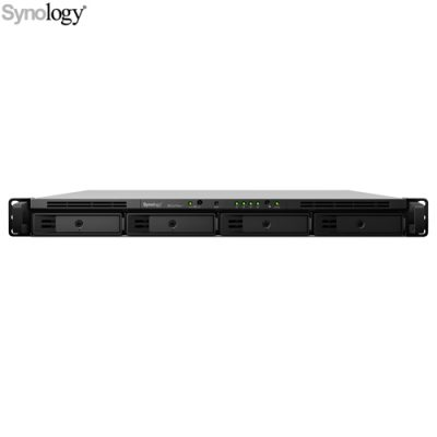 Synology RackStation RS1619XS+ Servidor NAS 4 Bahías Intel® Xeon D-1527 2.2 GHz 8 GB DDR4 Hasta 256TB Rack 1U Negro - VS-Synology-RS1619XS+