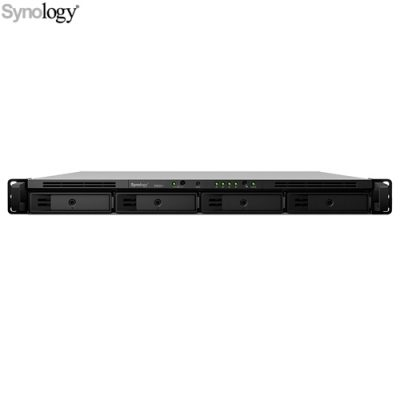 Synology RackStation RS820RP+ Servidor NAS 4 Bahías 2 GB DDR4 Intel Atom C3538 2.1 GHz Hasta 64TB Rack 1U Negro - VS-Synology-RS820RP+