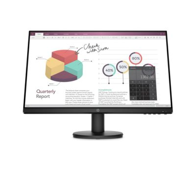"Monitor HP P24v G4 23.8"" FHD WideScreen HDMI Negro - VS-HP-9TT78AA"